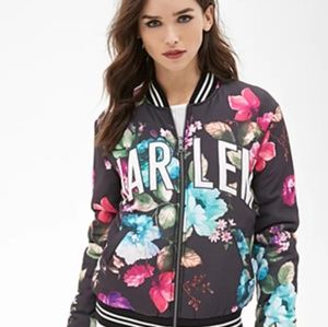 Forever 21 Women's Floral Harlem Jacket- Small